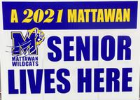 Mattawan 2021 Senior Sign image